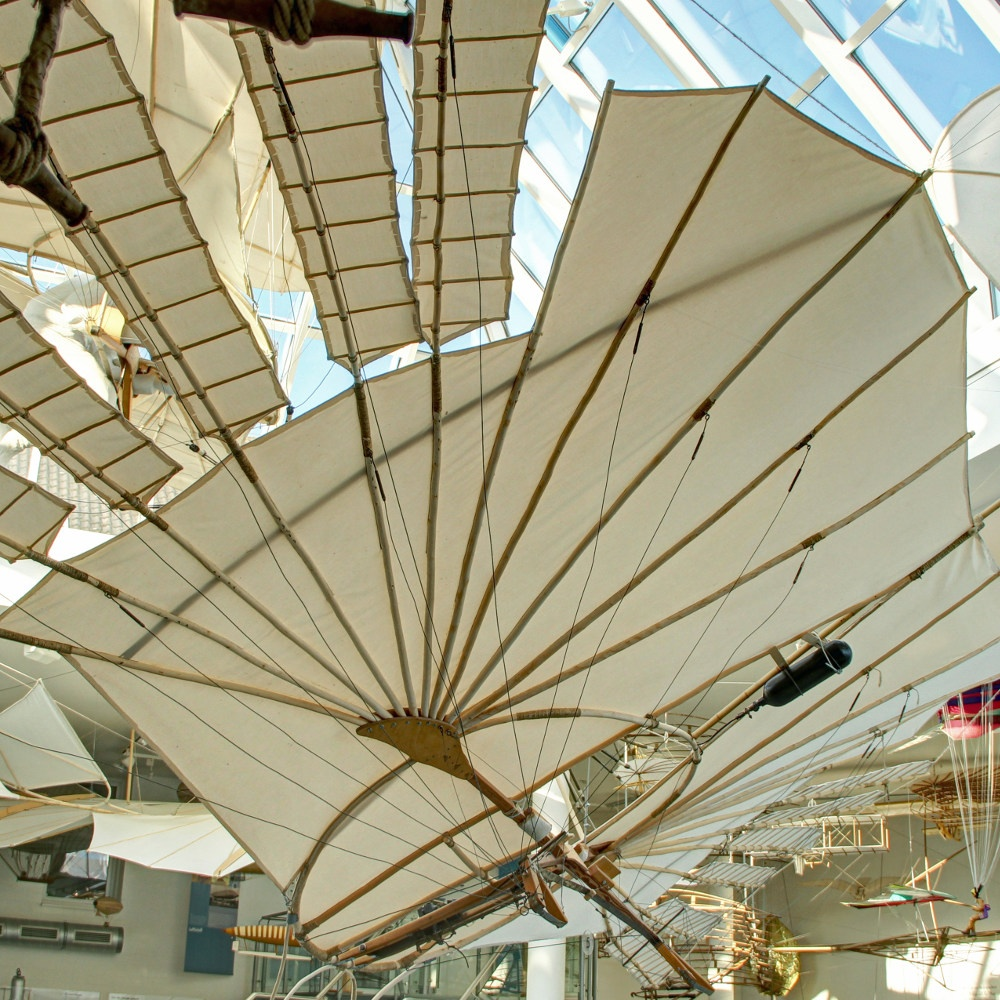 Flugapparat Otto Lilienthals (Rekonstruktion) (Otto-Lilienthal-Museum CC BY-NC-SA)