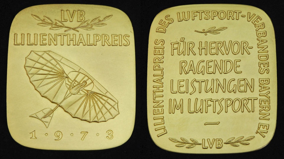 Lilienthal-Medaille (Otto-Lilienthal-Museum CC BY-NC-SA)