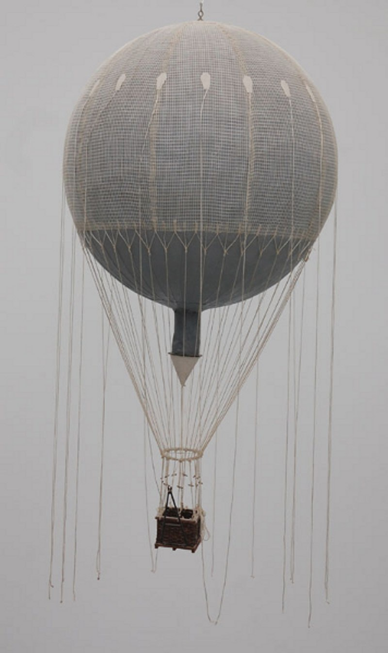 Modell Ballon (Otto-Lilienthal-Museum CC BY-NC-SA)
