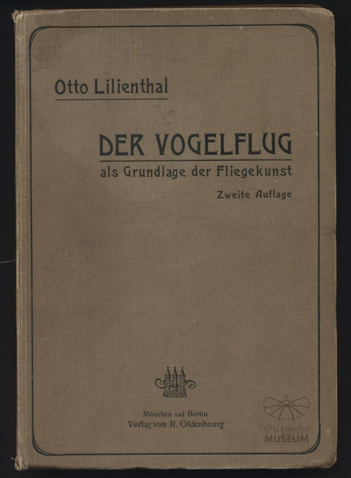 "Buch ""Der Vogelflug"" (Otto-Lilienthal-Museum CC BY-NC-SA)"