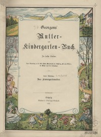Georgens' Mutter- und Kindergarten-Buch